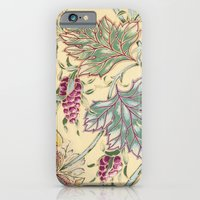 iPhone Cases featuring tiffany garden by Ariadne