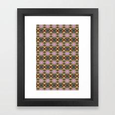 Karma Quilt Framed Art Print