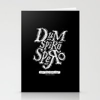 Dum Spiro Spero Stationery Cards