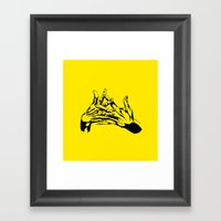 As1 Framed Art Print
