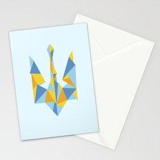Ukraine Geometry Stationery Cards