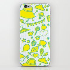 doodle brightness iPhone & iPod Skin