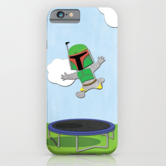 SW Kids - Boba Fett Jump iPhone & iPod Case