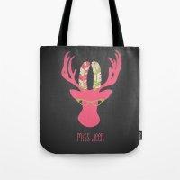 Miss Deer Tote Bag