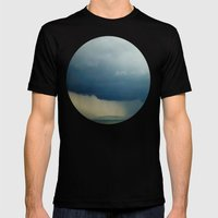 The Calm Before The Stor… Mens Fitted Tee Black SMALL