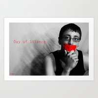 Day Of Silence (Derreck)… Art Print
