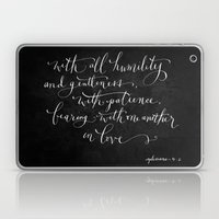 Bearing In Love // White… Laptop & iPad Skin