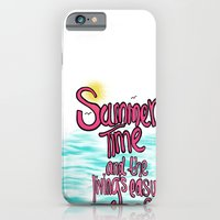 iPhone & iPod Case featuring Livin is Easy by Intrinsic Journeys