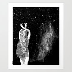 asc 604 - L'invocation à Vénus (Venus under the sky) Art Print