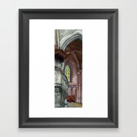 Cathédrale Framed Art Print