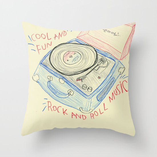COOL & FUN Throw Pillow