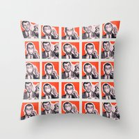 Coffee: Pour, Drink, Repeat Throw Pillow