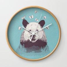 Let's Bear Friends Wall Clock