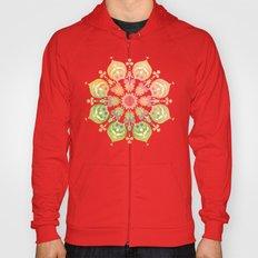 Indigo Flower Hoody