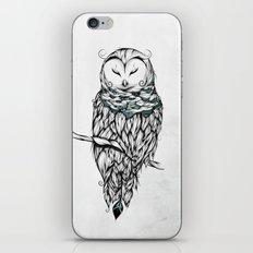 Poetic Snow Owl iPhone & iPod Skin