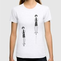 Unlike Eloise, Ramona had mastered the pogo stick. Womens Fitted Tee Ash Grey SMALL