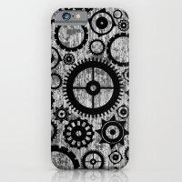 Grunge Cogs. iPhone 6 Slim Case