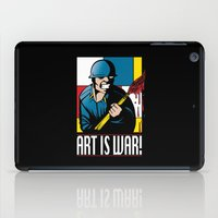 Art is War! iPad Case
