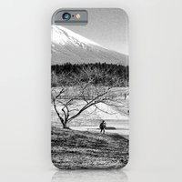 iPhone & iPod Case featuring mt fuji by ihavenonameandadress