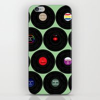 Vinyl Love iPhone & iPod Skin