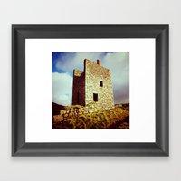 Cornish Engine House Framed Art Print