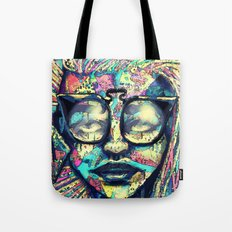 Narley to the Retro Tote Bag