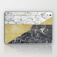 marble hOurglass Laptop & iPad Skin