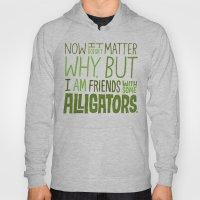 Aligator Friends Hoody