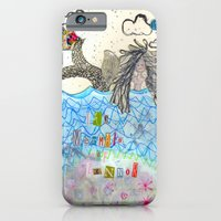 iPhone & iPod Case featuring The Mermaid Of Zennor by Trudi Drewett Illustration