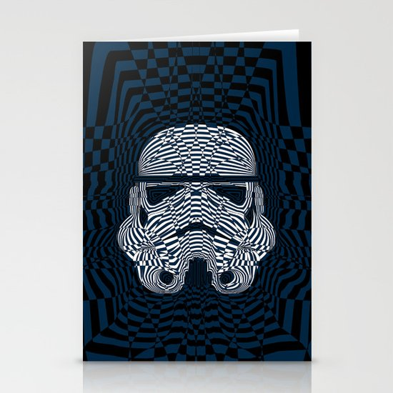 Storm and radiation Stationery Card