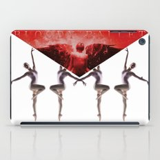 envelope bloody ballet iPad Case