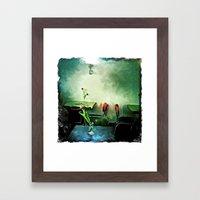 Shuga's Afternoon Framed Art Print
