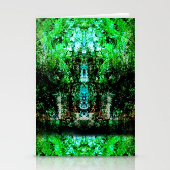 Kaleidoscope Stationery Card