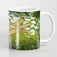 Fly High Dragonfly. Mug