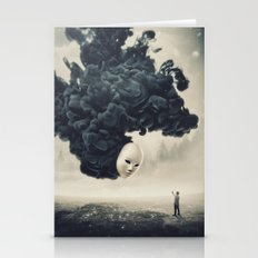 The Selfie Dark Surrealism Stationery Cards