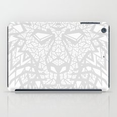 Heart of a Lion - Gray iPad Case