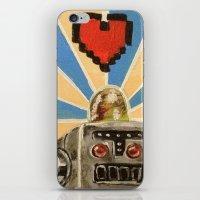 8 Bit Love Machine iPhone & iPod Skin