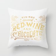 Tis The Season For Red W… Throw Pillow