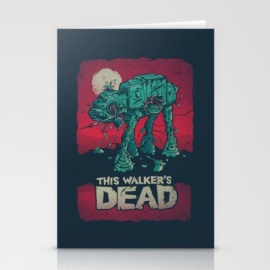 Walker's Dead V2 Stationery Card