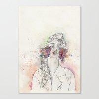 Imagining Colour Canvas Print