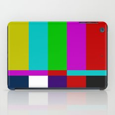 Color Glitch iPad Case
