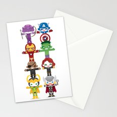 THE AVENGER'S 'ASSEMBLE' ROBOTICS Stationery Cards