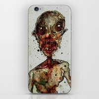 Hungry For Human Flesh iPhone & iPod Skin