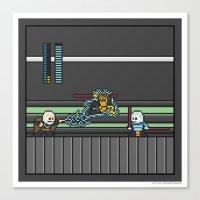 Mega Boss Battles - Dook… Canvas Print