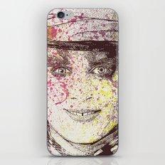 johnny depp (alice in wonderland) iPhone & iPod Skin