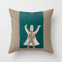 There Is Another Me, Dee… Throw Pillow