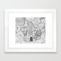 Orejas Framed Art Print