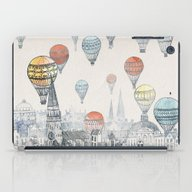 Voyages Over Edinburgh iPad Case