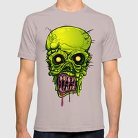 Zombie Mens Fitted Tee Cinder SMALL