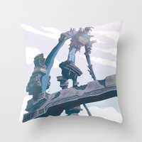 Shadow of the Colossus  Throw Pillow